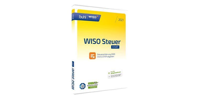 WISO Steuer Start 2021 (für das Steuerjahr 2020) für nur 10,99€