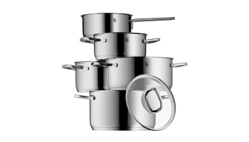 WMF Intension Topfset mit Glasdeckeln (5-teilig) für 99,99€