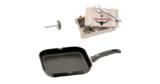 WMF Steak-Set (Grillpfanne, Steak-Besteck & Steak-Thermometer) für 69€