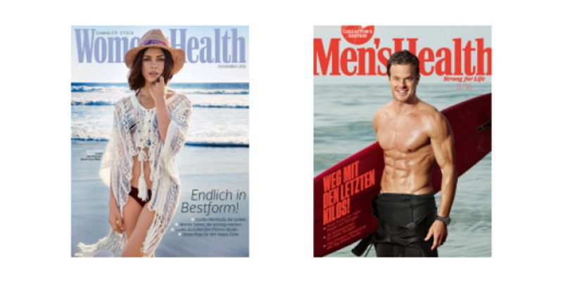 Mens Health oder Womens Health (Digital-Ausgabe) gratis testen