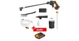WORX Akku-Hochdruckreiniger-Set Hydroshot WG625E.3 für 149,99€