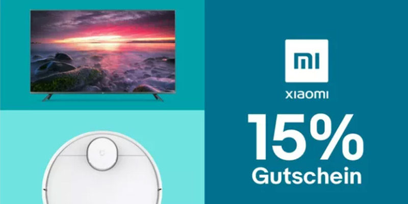 Xiaomi Mi Day Festival: 15% Xiaomi Gutschein bei eBay