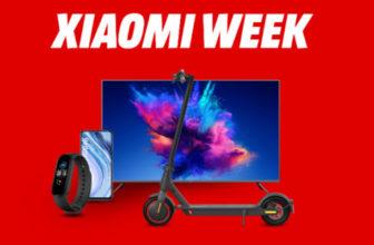 Xiaomi Week – 19% Mehrwertsteuer geschenkt auf Smartphones, Smartwatches & Fernseher