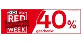 XXXLutz Red Shopping Week: 40% Rabatt auf über 8.000 Artikel