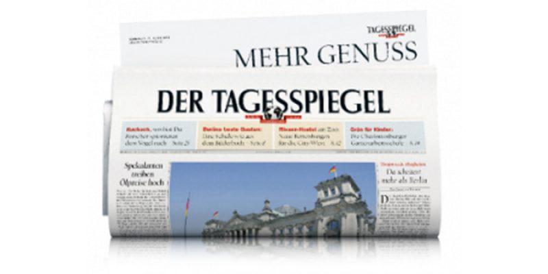 2 Wochen die Zeitung Tagesspiegel kostenlos (ohne Kündigung)