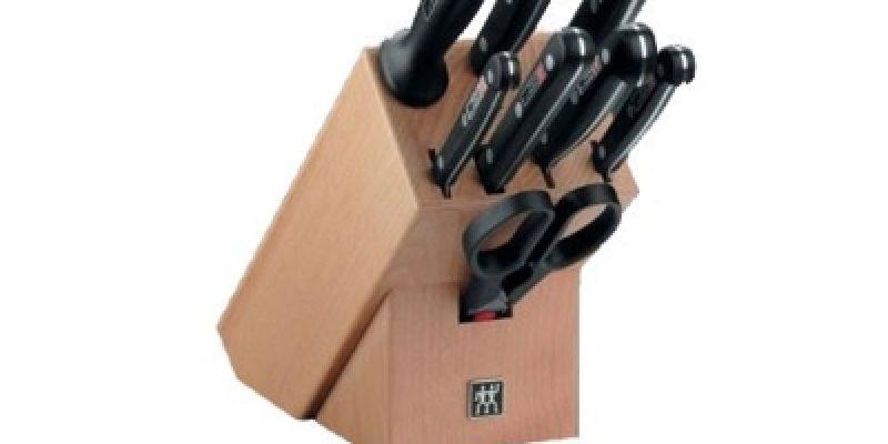 Zwilling Messerblock Twin Gourmet 9-teilig für 99,95€