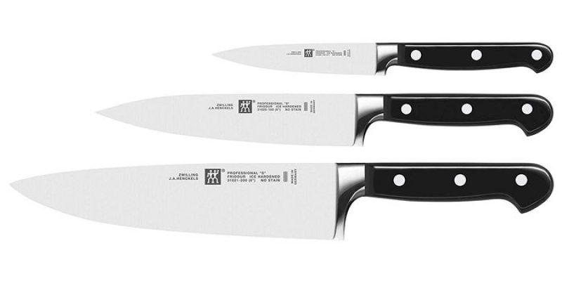 Zwilling Professional S Messerset (3-teilig) für 59,99€